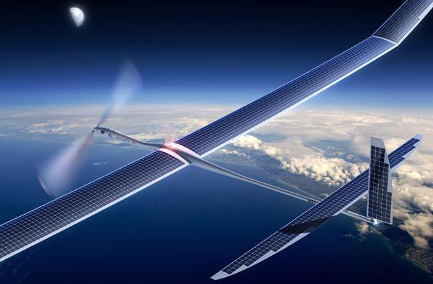 Facebook offers more details on its internet-beaming planes
