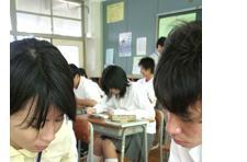 Japanese high school students use DS to learn English
