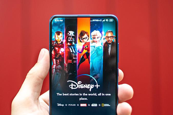 Disney+ on Android phone