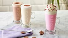 Costa impresses customers with pink hot chocolate that's perfect for Instagram