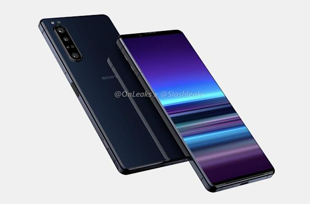 Leaks of Sony's Xperia 5 Plus show bigger screen, better camera