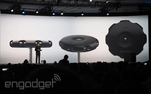 Samsung unveils Project Beyond, a 3D-capturing camera for Gear VR