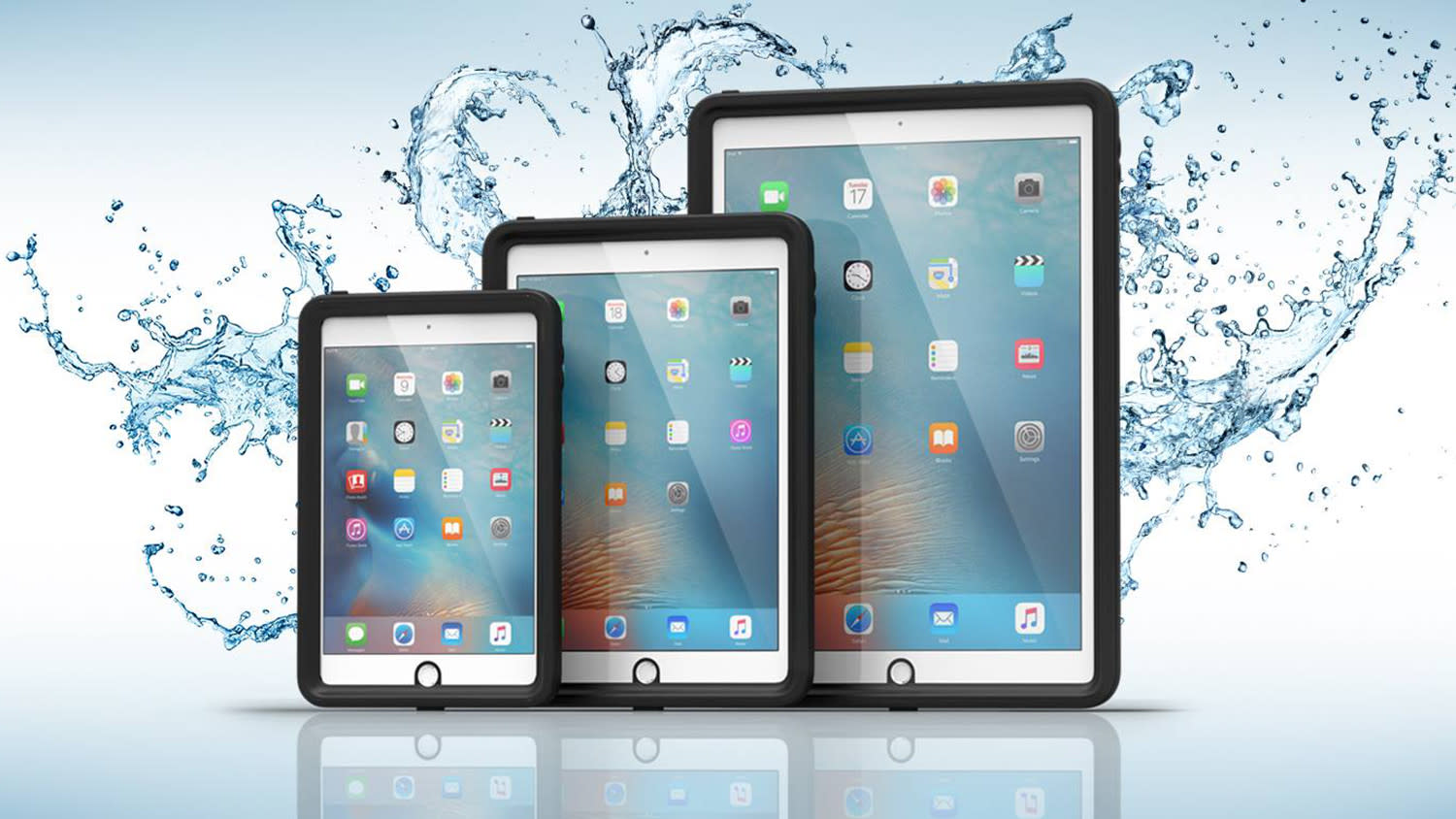 Don't get all wet — slap this limited edition waterproof case on your iPad