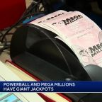 Giant Powerball, Mega Million jackpots have Mass. residents dreaming