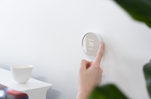 Google's $130 Nest Thermostat features an all-new touch-based design