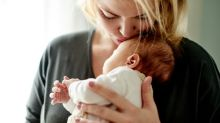 A hug from mom or dad can calm infants