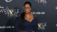 Oprah Stole the Show in Atelier Versace at the   Wrinkle in Time Premiere