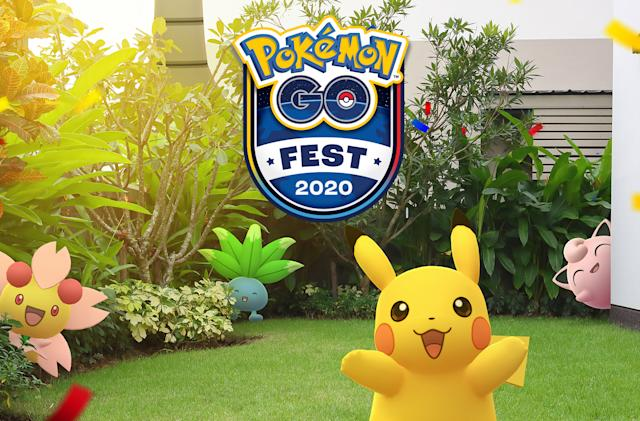 Pokémon Go Fest 2020 is a stay-at-home event starting July 25th