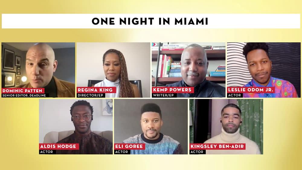 One Night In Miami Director Regina King Scribe Stars On A Beautiful Story Of Brotherhood Contenders Film