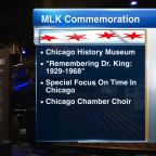 MLK Day: Chicago commemorating Dr. Martin Luther King with events across city