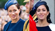 Meghan Markle's Trooping the Colour Outfit Had a Surprising Twist When She Removed the Cape!