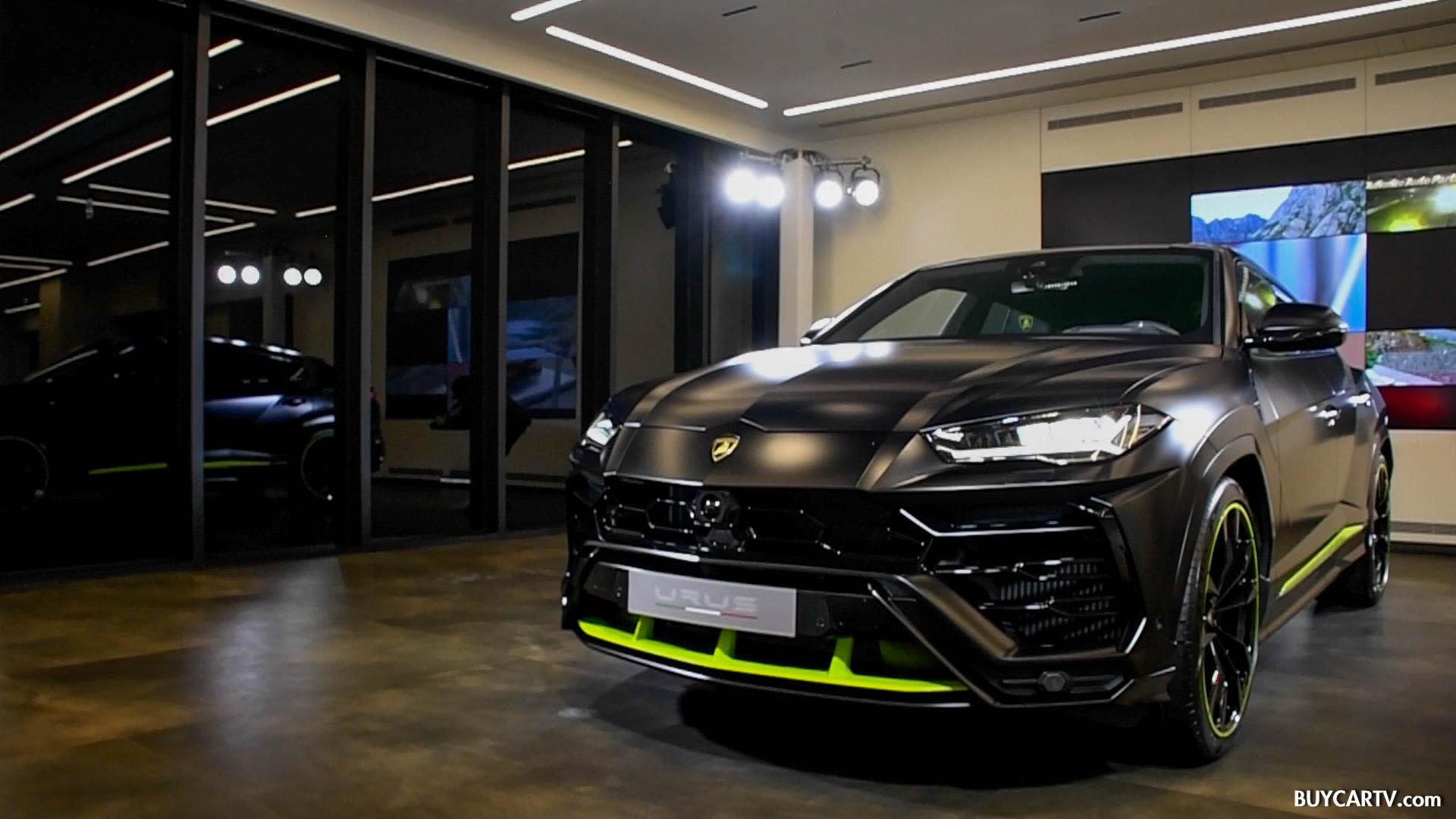 霸氣臻選訂製Lamborghini Urus抵台 | 建議售價1588萬元起!