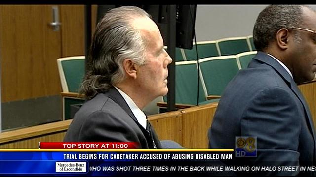 Trial begins for caretaker accused of abusing disabled man