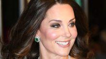 Kate Middleton brilla con un bolso español en los Premios Bafta 2018