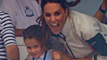 Princess Charlotte Hilariously Sticks Her Tongue Out at the Crowd, Shocks Kate Middleton: Pics!