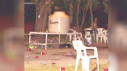 La fiesta con 'aguas locas' que se convirtió en noticia