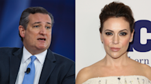 Ted Cruz and Alyssa Milano join forces to discuss gun-control reform