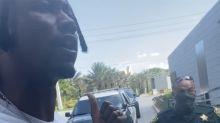 Llaman a la policía cuando un exjugador de la NFL iba a entrar a su casa en Florida