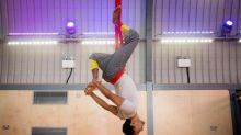 Aerial yoga – I look like a buffoon. I feel incredible. And then I vomit