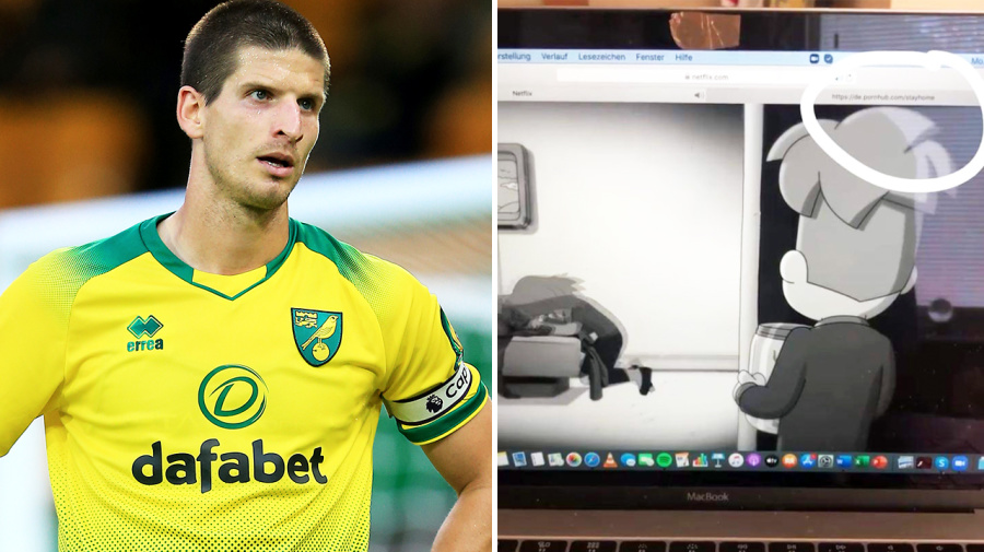 'Enjoying lockdown': Footballer caught in embarrassing X-Rated blunder