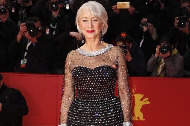 Homage Helen Mirren - Honorary Golden Bear Award Ceremony - 70th Berlinale International Film Festival