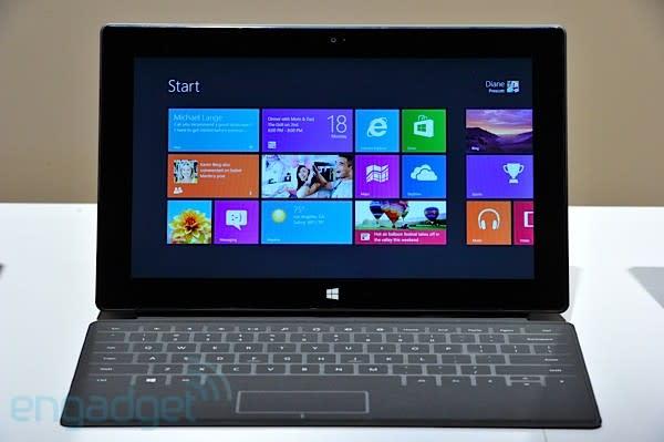 So viel Liebe: Surface-Tablets mit Windows RT bekommt Software-Update