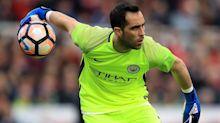 Claudio Bravo happy at Manchester City despite the club looking for another goalkeeper