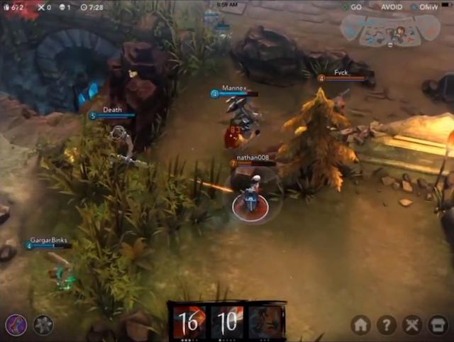 Vainglory, the game Apple highlighted to show off the A8 chip, hits iTunes