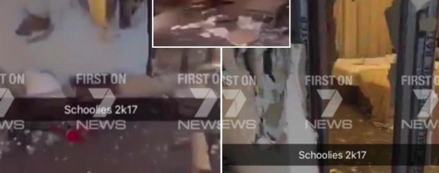Schoolies boast online after trashing penthouse