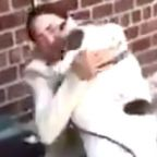 Alexandria Ocasio-Cortez 'Ambushed' By An Adorably Furry Constituent