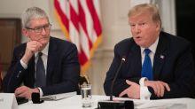 Trump: Tim Cook made compelling tariff case