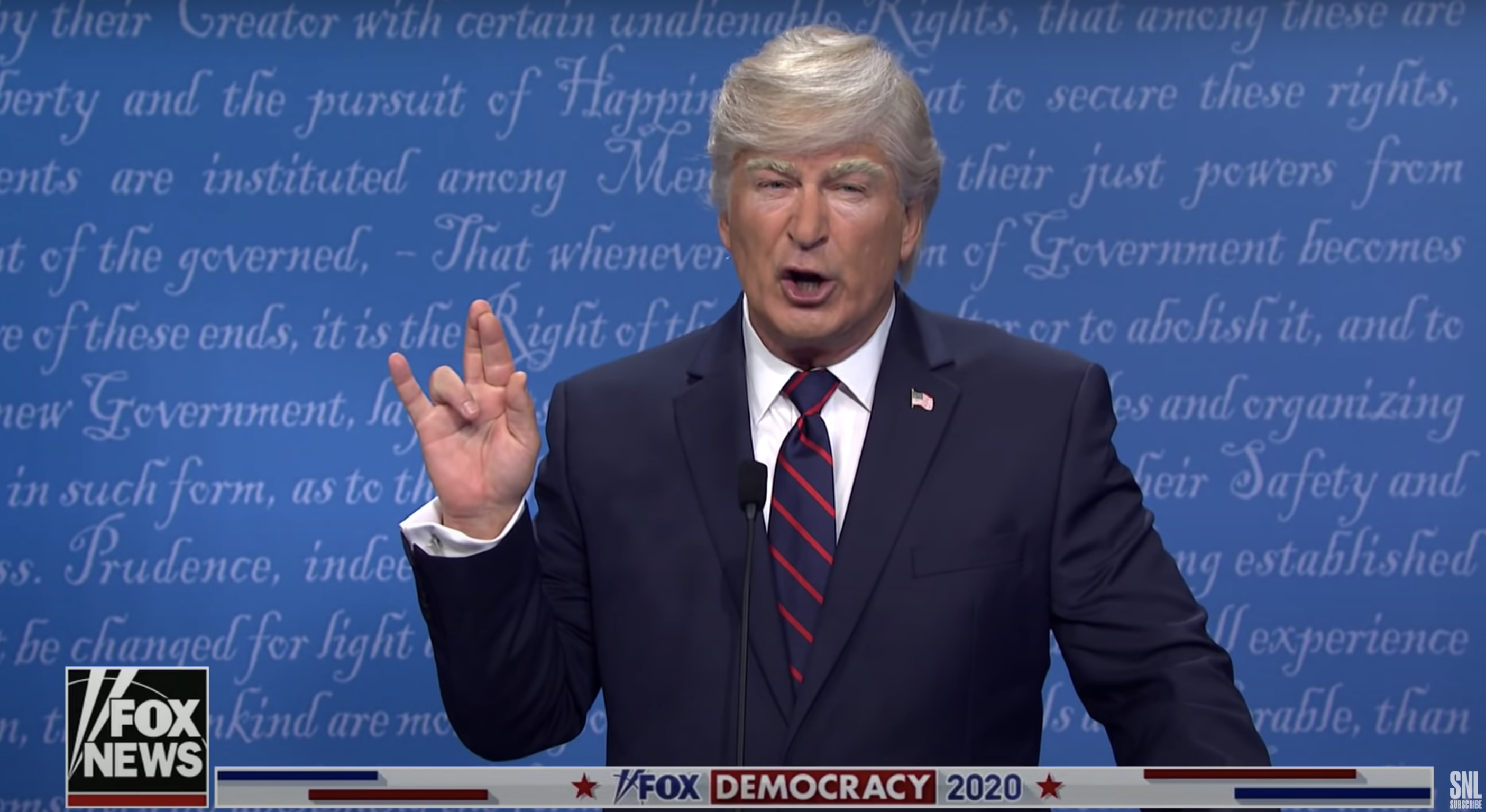 Alec Baldwin defends playing Trump on 'SNL' amid president's COVID-19 hospitalization