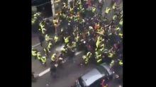 Gilets jaunes: Affrontement entre groupes d'extrême droite et d'extrême gauche à Lyon