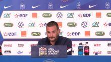 Foot - L. nations - Bleus : Lloris : « C'est avant tout un match de rentrée »
