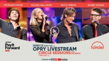 Grand Ole Opry Live: Watch Keith Urban, Kelsea Ballerini and Morgan Evans perform in concert