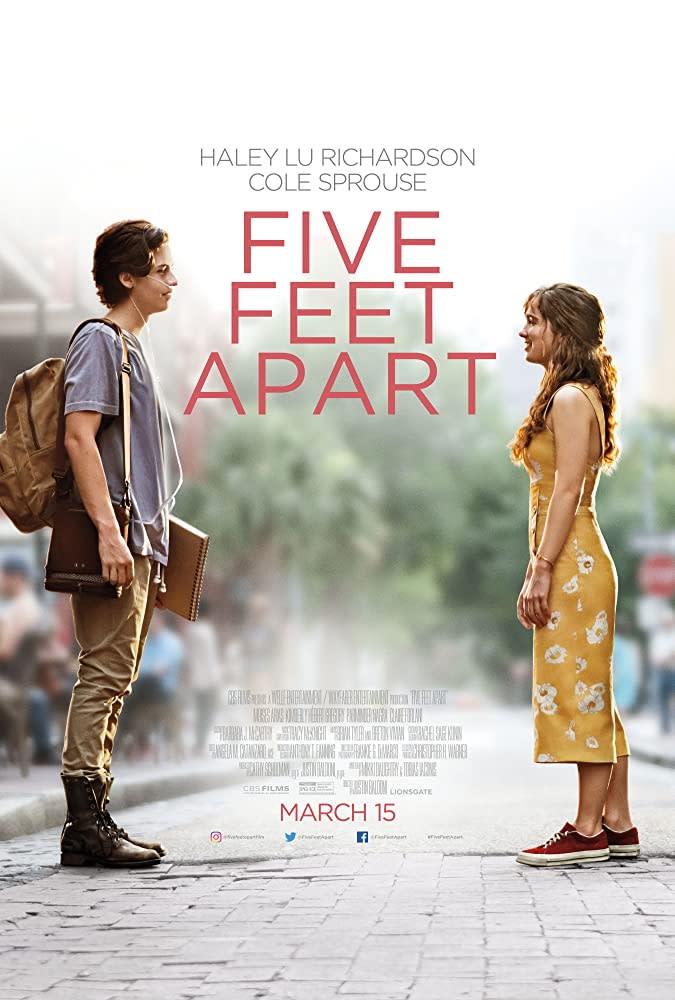 3.《愛上觸不到的你》Five Feet Apart,2019