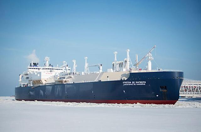 Tanker's speedy Arctic crossing is bad news for the planet