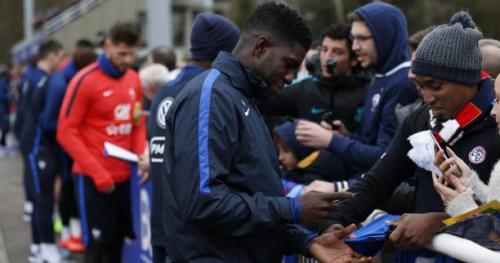 Foot - Bleus - Didier Deschamps séduit par la «sérénité» et le «côté patron» de Samuel Umtiti