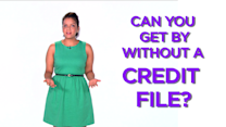 Can you get by without credit?