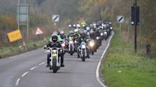Harry Dunn death: Hundreds of bikers ride to remember crash victim