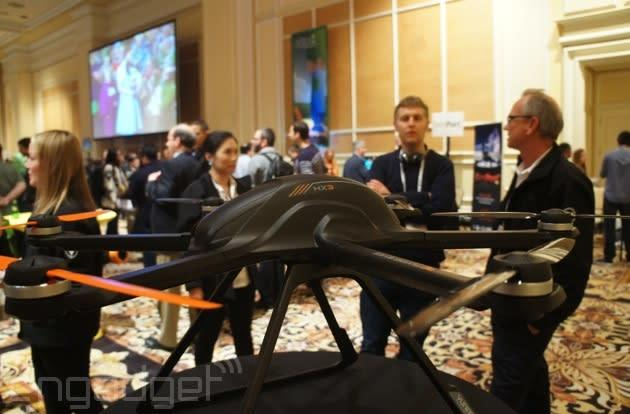 Yuneec's hexacopter drone is a lot lighter than it looks