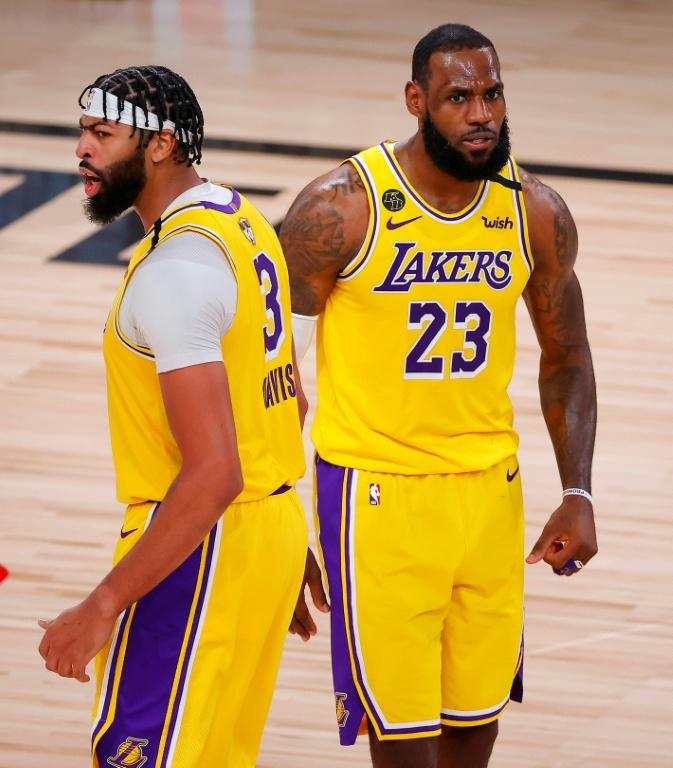 On a mission: Anthony Davis says he envies LeBron James three championship rings