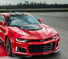 2017 Chevy Camaro ZL1 Nails An Official 198 MPH Top Speed