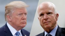 Trump wishes McCain speedy recovery: 'We need his vote'