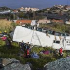 Bus crash in Madeira leaves at least 29 tourists dead