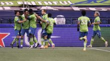 Defending champion Sounders beat Dallas in MLS playoffs