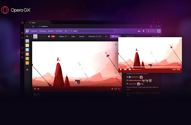 Opera built a browser just for gamers