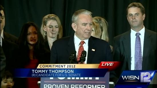RAW: Tommy Thompson concession speech