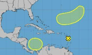 Two new tropical waves forecast to emerge