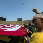 Forde-Yard Dash: Why aren't college football players given opportunity to protest during anthem?